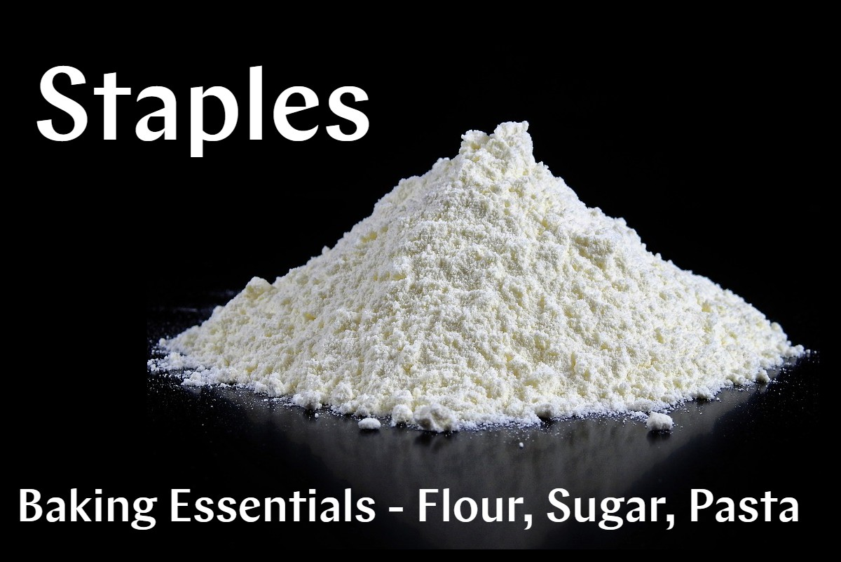 Staples-Flour-Sugar-Pasta
